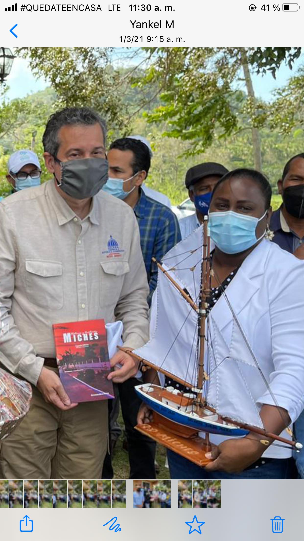Visita del Ministro de Medio Ambiente